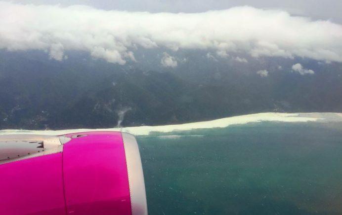 Busan (Güney Kore)- Osaka (Japonya) uçuşumuz