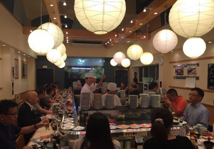 Tsukji Balık Pazarı-Sushi Zanmai Restoranı