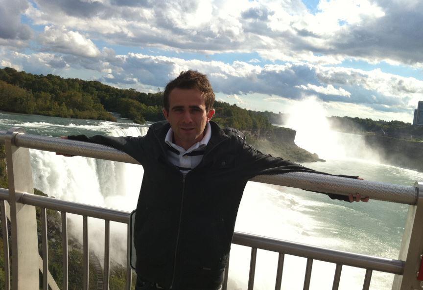 Niagara Şelaleri Manzarası