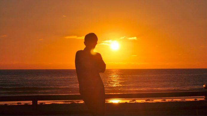 Pasifik Sahili-Günbatımı Manzarası-San Diego