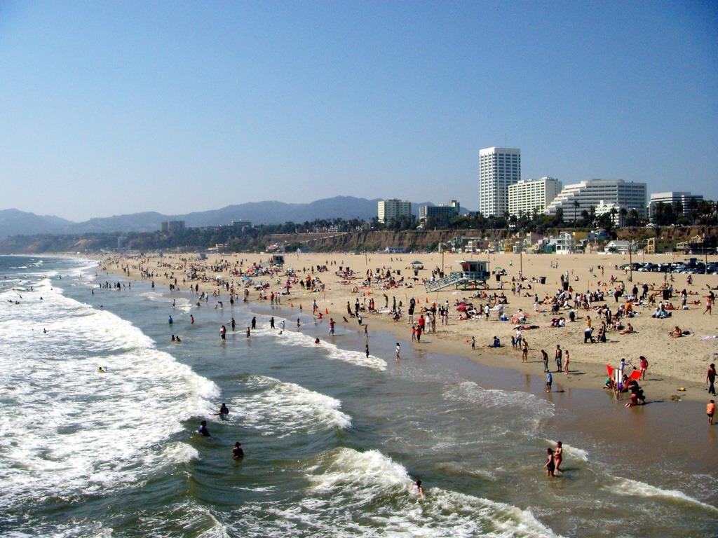 Santa Monica Sahilleri