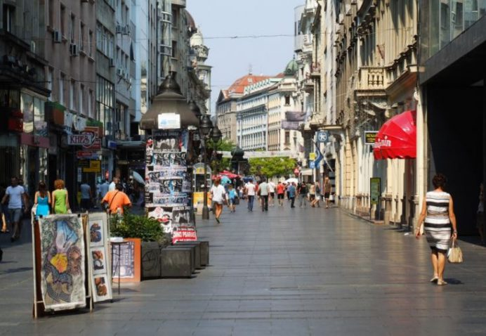 Knez Mihajlova Cadesi-Alışverişin Kalbi-Belgrad