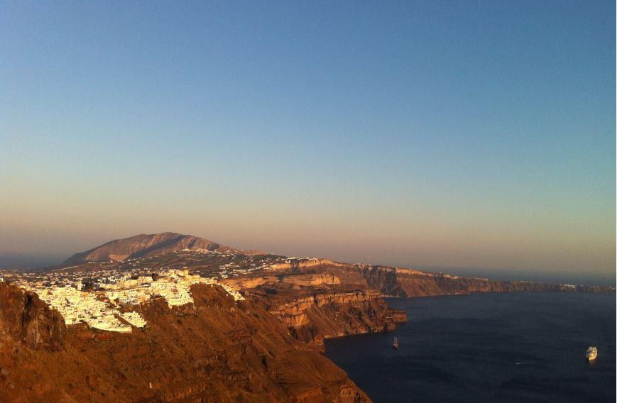 Santorini_Yamaçları