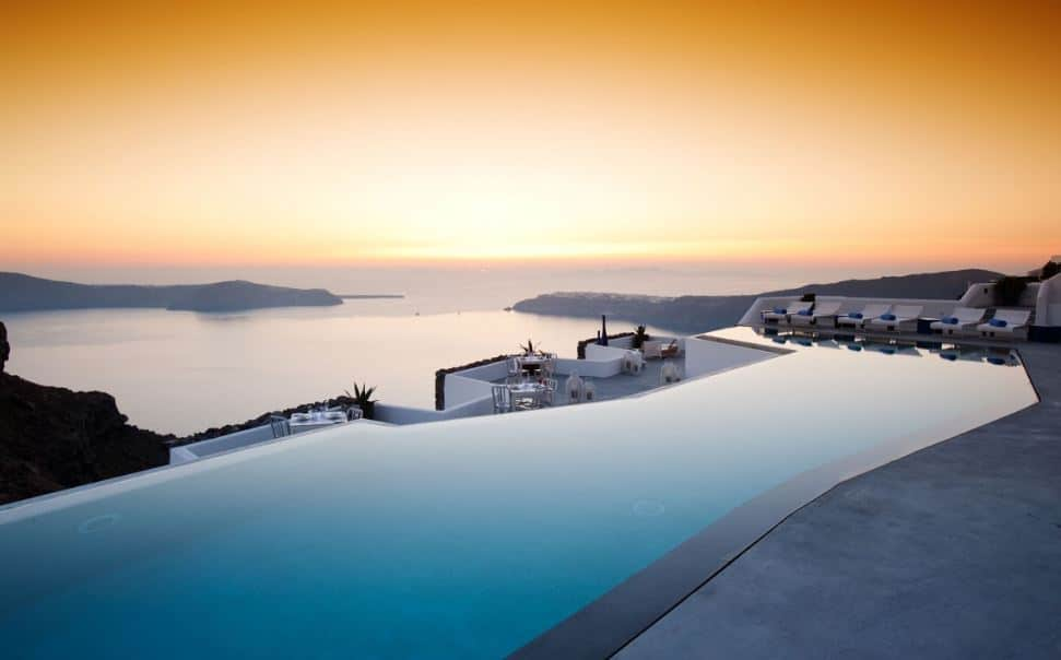 Santorini-En İyi Otellerden Bİr Tanesi