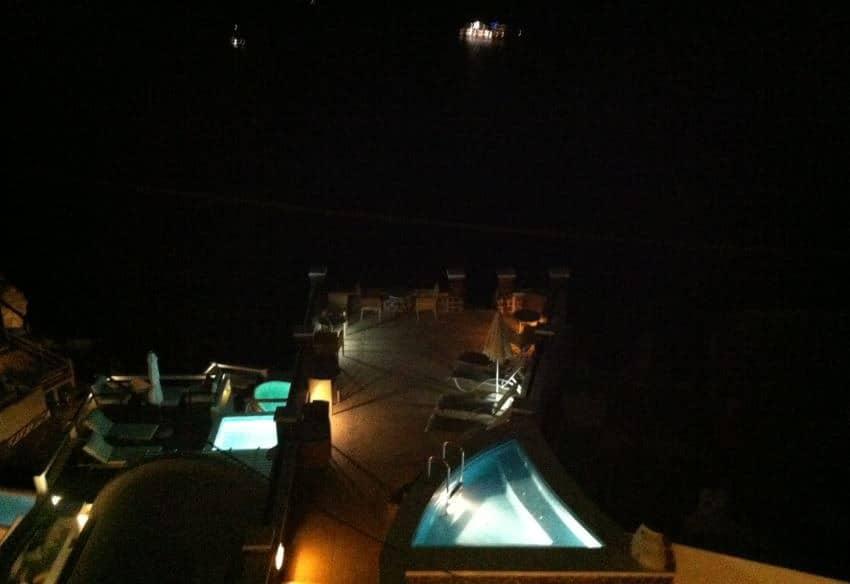 Otelimizin Balkonundan Gündüz Manzarası