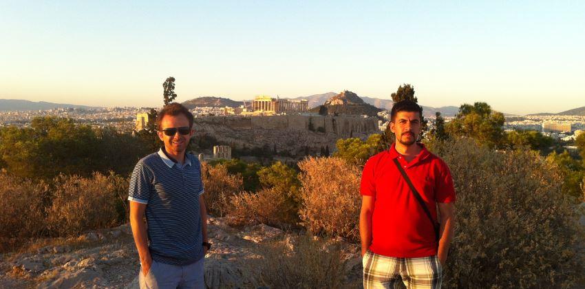 Filopappou_Tepesinden_Akropolis_Manzarası