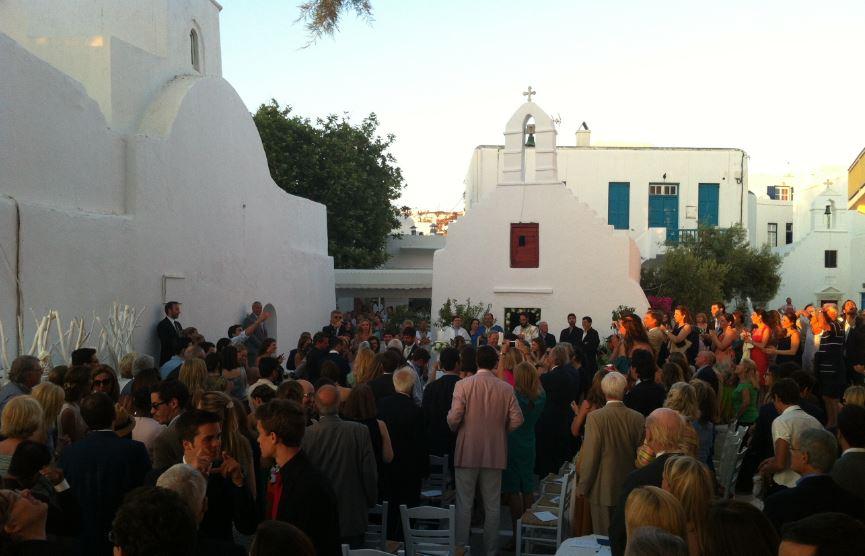 Şehir Merkezinde Denk Geldiğimiz Bir Nikah Töreni