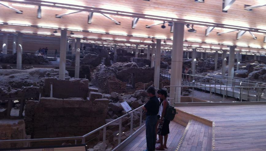 Santorini Akrotiri Müzesi