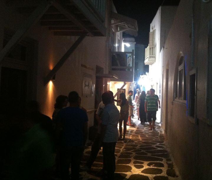 Dapdar Mikonos Sokakları