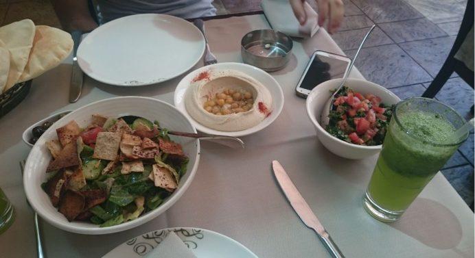 Meşhur Abdel Wahab Restoranı Başlangıçlar