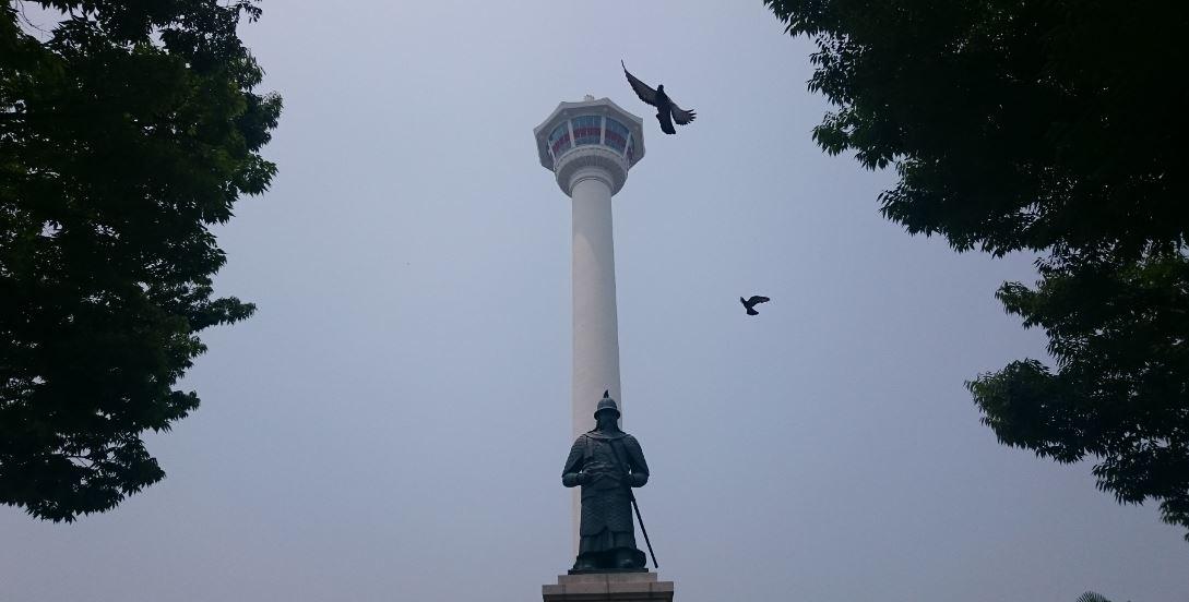 Busan Tower (Kulesi) ve Yongdusan Parkı