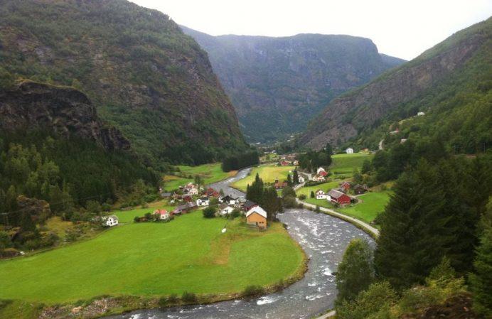 Flam-Norveç (Fotoğraf Bizzat Tarafımdan Çekilmiştir )