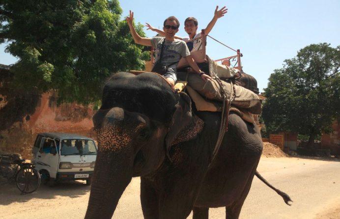 Korkma. Düş Yola- Jaipur (Hindistan)