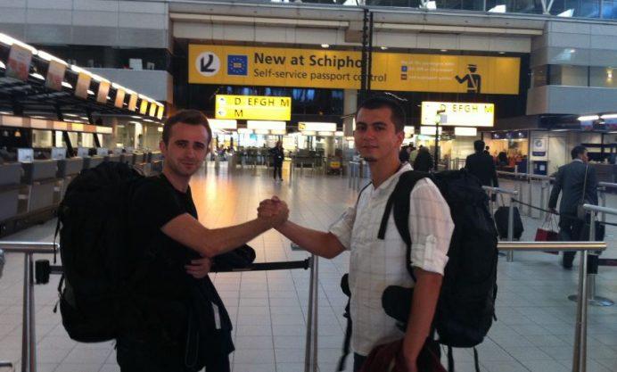 Hollanda-Amsterdam (Yol arkadaşım Ali ile)