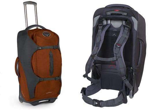 Tekerlekli Sırt Çantaları