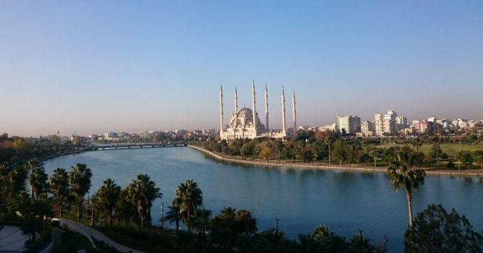 Odamdan Adana Manzarası