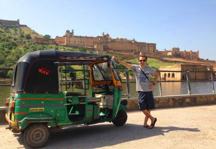 Tuktuk-Hindistan'da Vazgeçilmezimiz