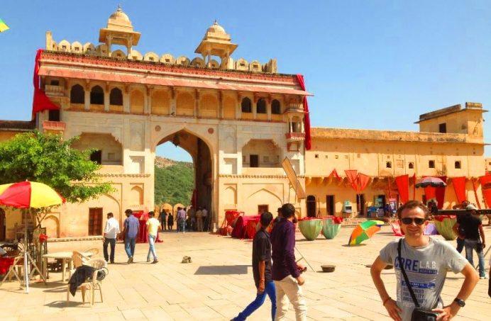 Jaipur (Bollywood Film Çekimine Denk Geldiğimiz Anlardan)