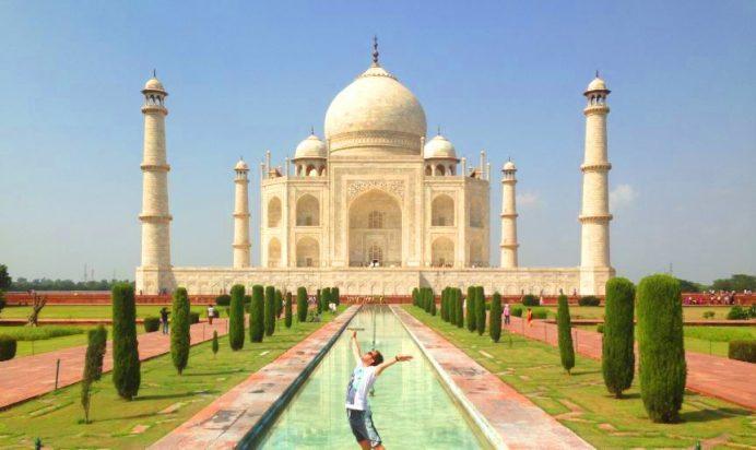Agra-Tac Mahal-Hindistan