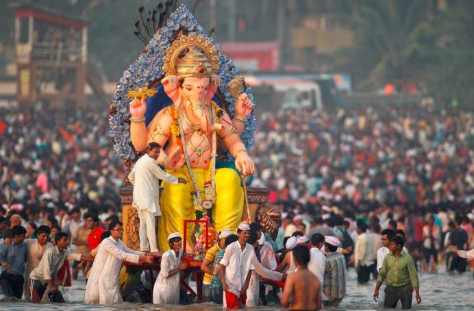 Ganesh Chathurthi Festivali-En Önemli Festivallerden