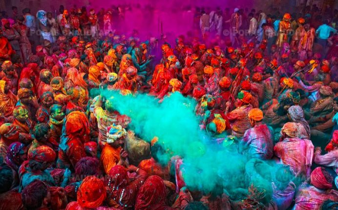 Holi Festivali. En Çok Görmek İstediğim Festivallerden