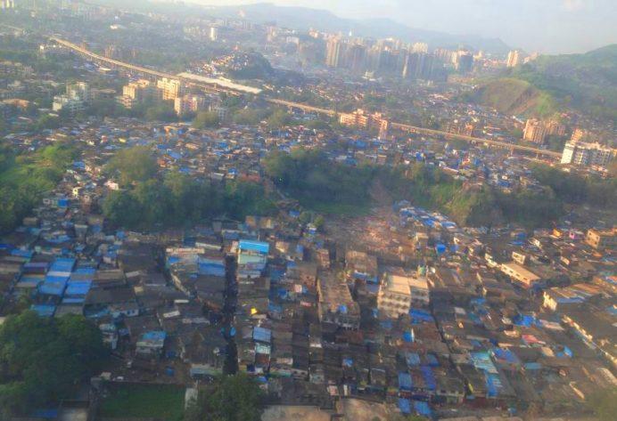 Mumbai-Gecekondu Mahalleleri