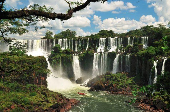 İguaza Şelaleri-Brezilya