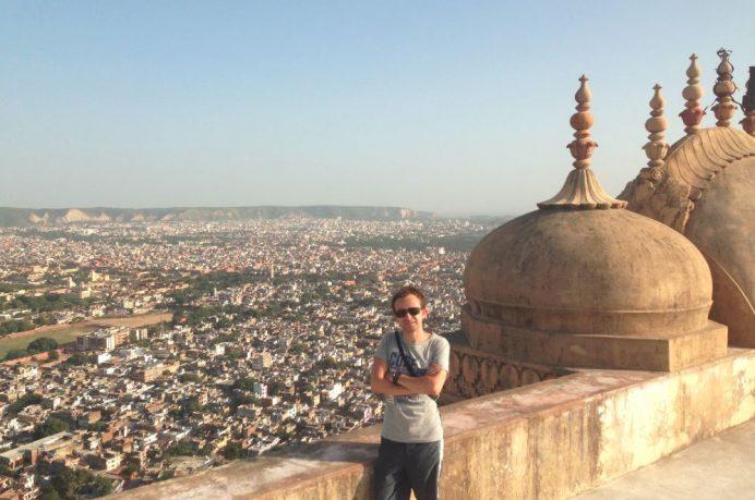Nahargarh Fort'dan Jaipur Manzarası