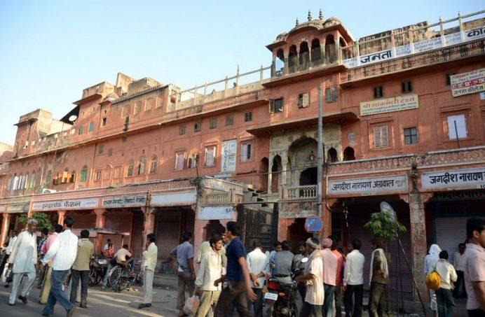 Old Town Sokakları-Jaipur