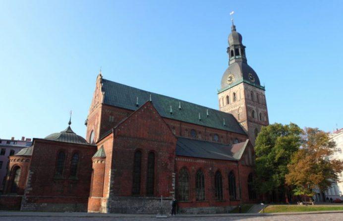 Riga Dome Katedrali-Letonya