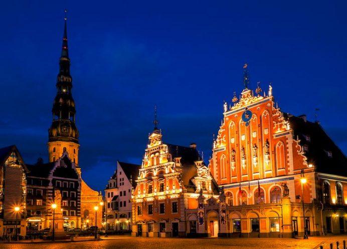 Baltıklar'ın En Güzel Şehri. Riga-Letonya